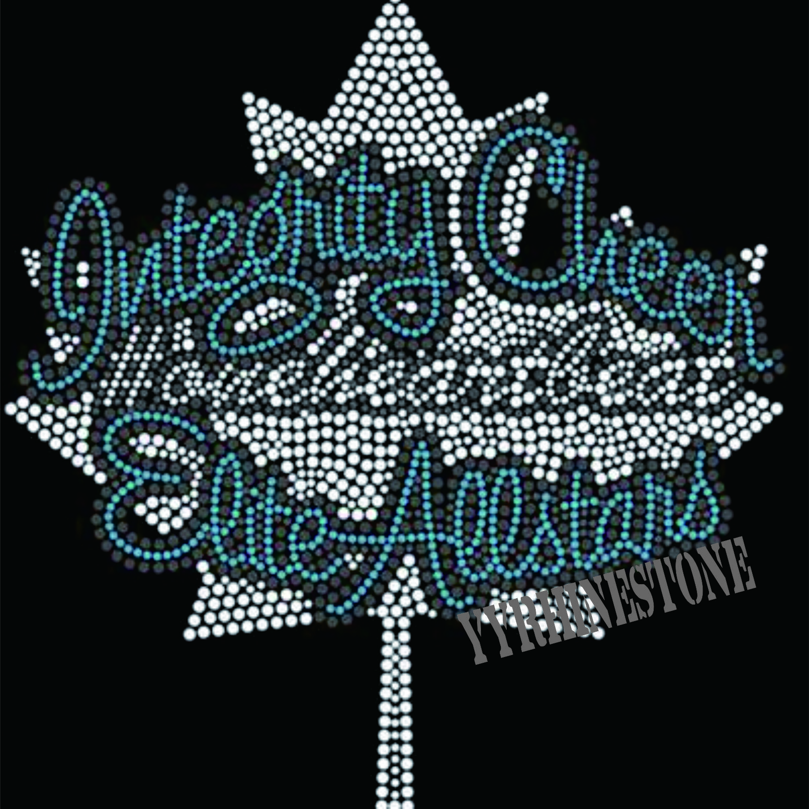 Elite allstars Rhinestone Transfer Motif For Tshirts