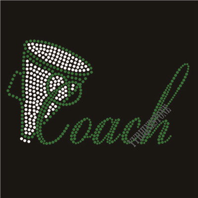 Cheer coach rhinestone transfer wholesale