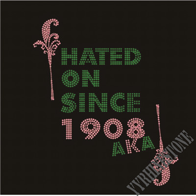 AKA hated on since 1908 rhinestone transfer