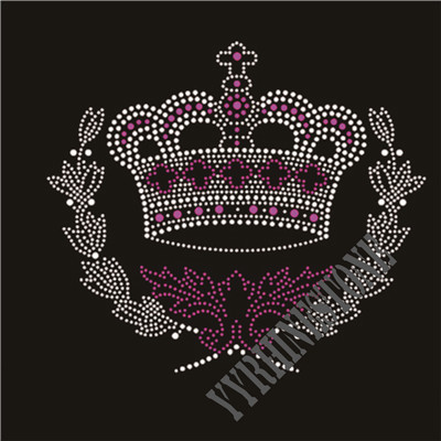 Custom crown rhinestone transfer