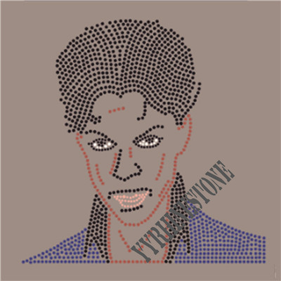Prince custom rhinestone transfer wholesale