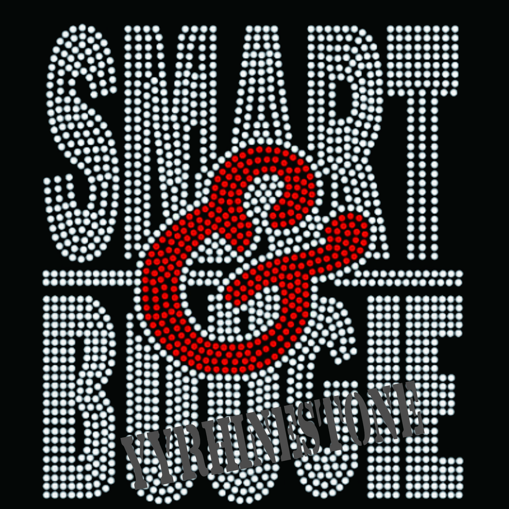 Smart bougie hotfix rhinestone transfer