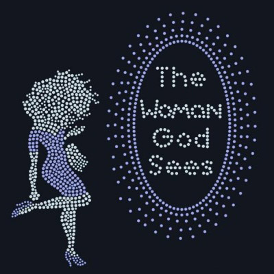 The woman god sees rhinestone transfer